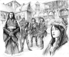 Lord of Rivendell by AbePapakhian