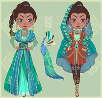 :Custom: India nobility by BlackMayo