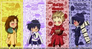 bookmark - trigun chibis xD by vividfantasy7