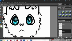New Icon-WIP-What Color Should the Fur Be? by Cassamara