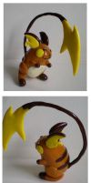 Commission: Raichu by Foureyedalien
