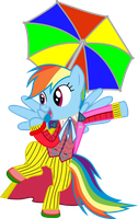 Rainbow Dash Always Dresses in Style by jaybugjimmies