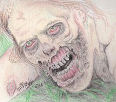 The Walking...Er Crawling Dead by PaulSpatola