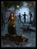 Scarlett and Gentlemen Thieves by Fredy3D