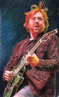 Trey Anastasio of Phish by reesmeister