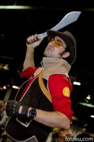 Acen 2011 Team Fortress Sniper by fotaku