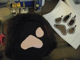 Wolf Hood Handmade Project No.3 by ChibiSayuriEtsy
