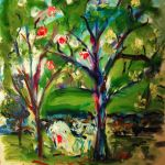 Tree Love (Sold) by LaurieLefebvre