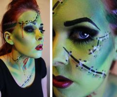 Bride of Frankenstein by MUA-Maano