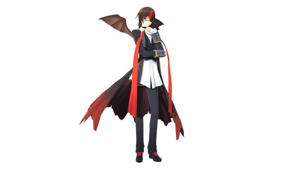 MMD/MME: Lelouch Code Black by shadowaya4ever