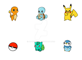 Pokebuttons + commissions by autumwind
