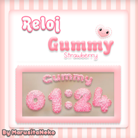 Reloj Gummy Strawberry *w* by marusitaneko