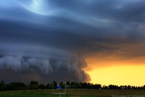 September Supercell II by FramedByNature