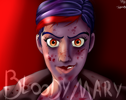 The Wolf Among Us - Bloody Mary by Honoro