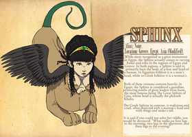 MYTHOLOGY SET - Sphinx by Dezfezable