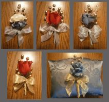 Corsages and Boutonnieres by Merwenna