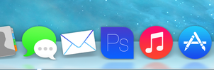 Apple OS Icons (iOS 7 Style) by MrMos3s