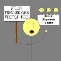 Plight of the Stick Figures by hpets
