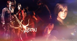 Ada Wong and Leon Kennedy - AEON - Wallpaper by BetthinaRedfield