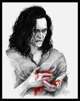 Suffering of Loki by DafnaWinchester