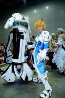 Elsword Shelling Guardian Cosplay by chowpohken