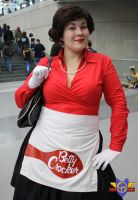 Betty Crocker Cosplay - NYCC 2013 by ConMenWebSeries