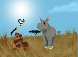 Max and the Barbets by amydrewthat