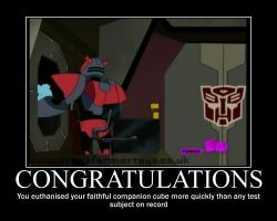 Cliffjumper Motivational by TyLeeChan