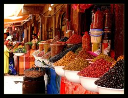 Colours Of Souk - Maroko by skarzynscy