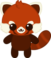 Kiriban Prize: Kawaii Red Panda by amis0129