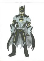Batman Redesigned by Jarrett-Ervin