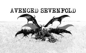 Avenged Sevenfold SkullBat by McKee91