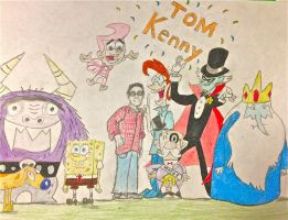 Tom Kenny by BravoKrofski