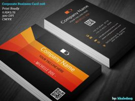 Corporate Business Card 008 by khaledzz9