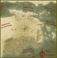 Warriors and Wuxia Final Map Sepia by KungFuAmadeus