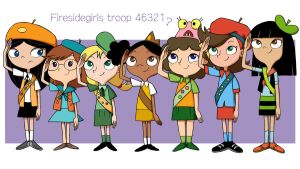Fireside girls troop 46321...? by UOTSdA