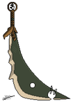 Bandos Scimitar Large by loki4everfm