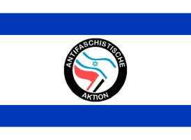 Antifa Israel flag by Jejejeje823