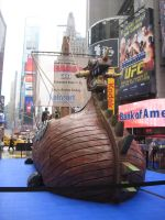 Viking ship in NYC by T-Nooler
