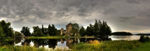 Savonlinna castle by ZoonTTarg