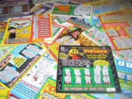 My Lottery ticket Addiction by jlu650