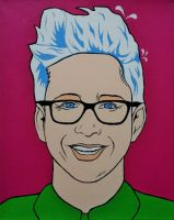 Tyler Oakley POP ART by Olilolly11