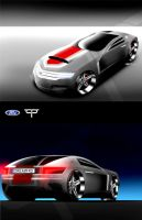 Ford Coupe GT Concept by TCP-Design