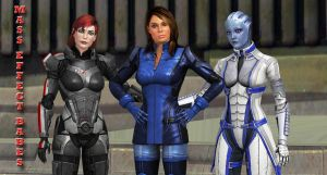 MASS EFFECT BABES by blw7920