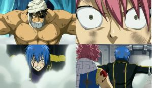Natsu sees Simon in Jellal by BlissfullyDisturbed