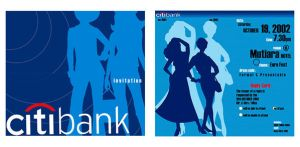 Citibank Invitation Card by turpitude