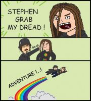 Stephen Grab my Dread by bulletinyurass