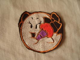 Paper Mario- Bow- Embroidered by Sunagirl