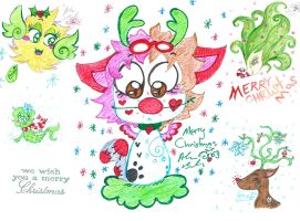 We Wish you a Merry Christmas 2014 by Kittychan2005