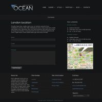 OCEAN - Contact Page by ZERGEV